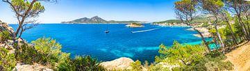 Sant Elm op Mallorca, Middellandse Zee van Alex Winter