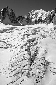 Der Mont-Blanc und der Riesengletscher von Jc Poirot