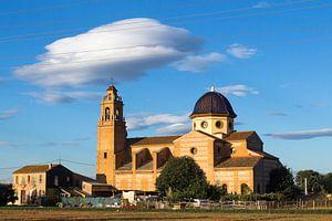 Kerk in Valencia van Annelies Huijzer