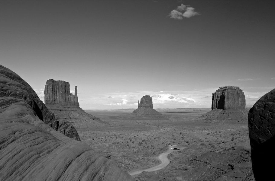 Monument Valley van Louise Poortvliet