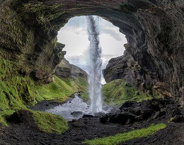 Versteckt Wasserfall, Bragi Kort von 1x