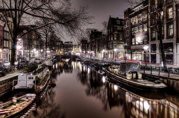 Amsterdamse Leidsegracht van Wouter Sikkema
