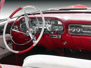1958 Série 62 Convertible Voiture américaine classique sur