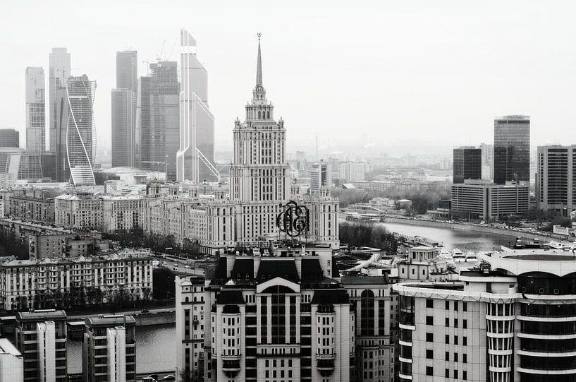 Moscow city van VH photoart
