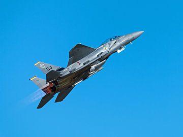 Strike Eagle F-15 take-off van Bob de Bruin