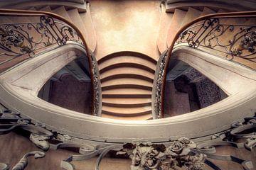 les escaliers dans une perspective différente sur Kristof Ven