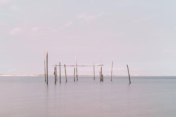 Visnetten op de Noordzee