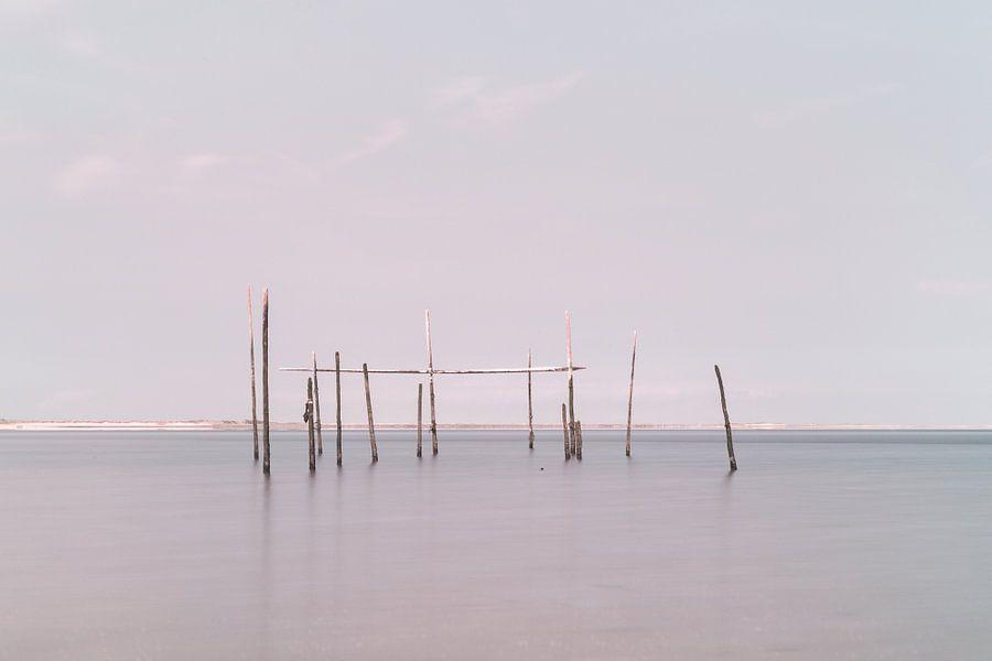 Visnetten op de Noordzee van Miranda van Hulst