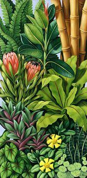 Foliage III von Catherine Abel