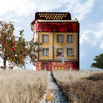 Haus des Akkordeonisten von Harald Fischer