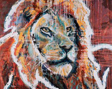 Liebe den Löwen von ART Eva Maria