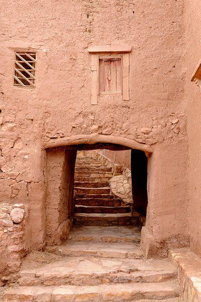 Aït-Ben-Haddou in het zuiden van Marokko van Gonnie van de Schans
