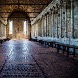 Klooster Mont St Michelle ;Monastery Mont St Michel;Monastery Mont St Michel;Monastery Mont St Miche van Tonny Visser-Vink