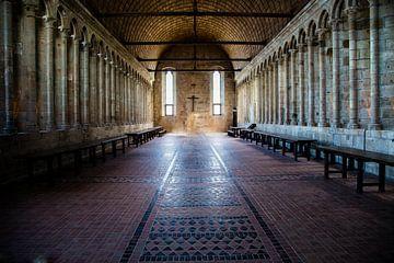 Klooster Mont St Michelle ;Monastery Mont St Michel;Monastery Mont St Michel;Monastery Mont St Miche von Tonny Visser-Vink
