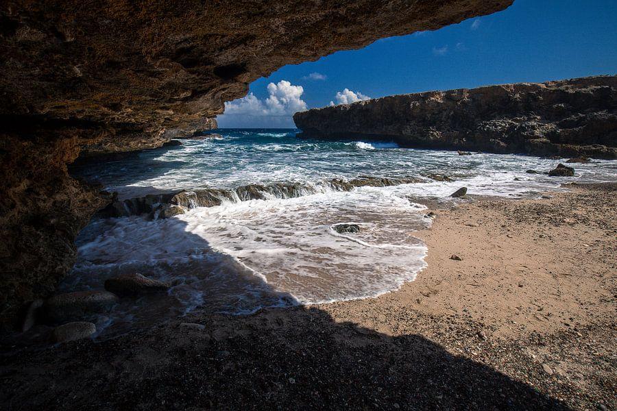 Boka Kalki, (Shete Boka, Curaçao)