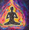 Meditation von Lida Bruinen Miniaturansicht