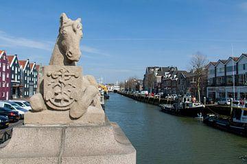 Maassluis-Koe Paard brug en Haven van Hans Blommestijn