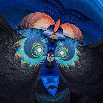 Fantasierijke abstracte twirlillustratie 131/9 van PICTURES MAKE MOMENTS