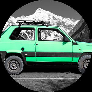 Fiat Panda 4x4 van aRi F. Huber