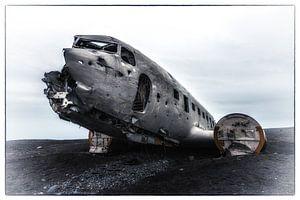 Douglas Dakota na de noodlanding - 2