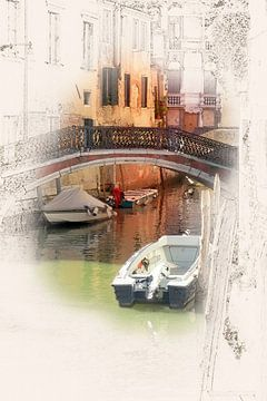 Venetië 04 van Erich Krätschmer