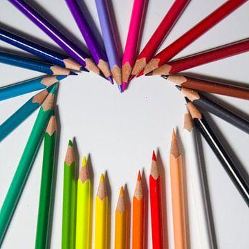 Kleurrijke liefde van Jelina de Klerk