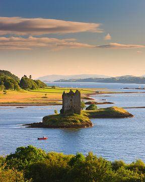 Castle Stalker, Schottland von Henk Meijer Photography