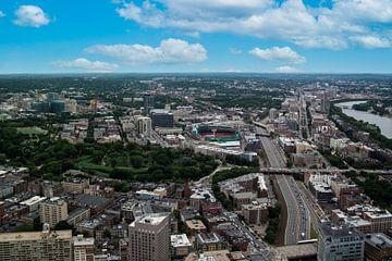 Skyline von Boston von Nynke Altenburg