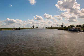 Windmolens aan de Kinderdijk. van Brian Morgan