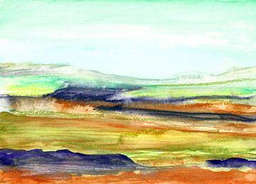 Landschaft Lela von Snezana Rafailovic