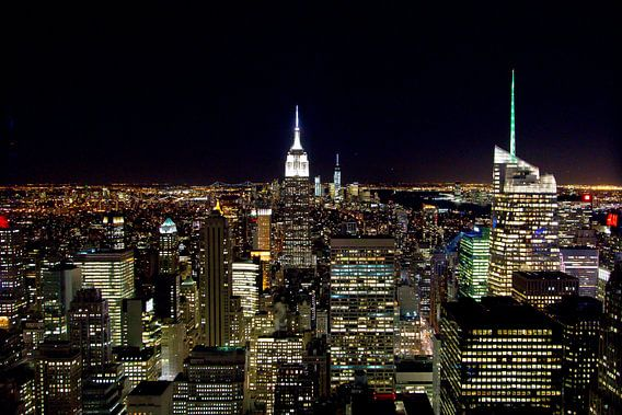 Manhattan by night van Sjoerd Tullenaar