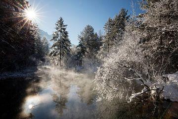 Winterstimmung bei Oberau von