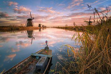 Weltwindmühlen von Kinderdijk von Sander Poppe