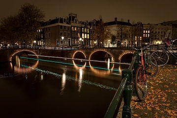 Geparkeerde fiets in Amsterdam von Wim Slootweg