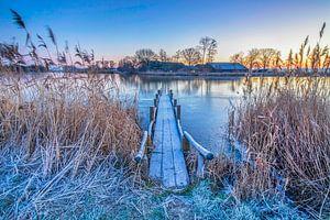 Hollands winterlandschap van Eelco de Jong