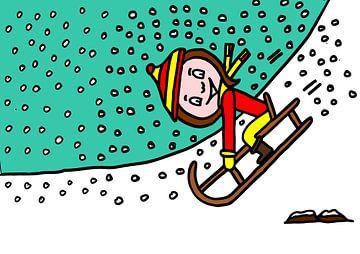 Sumpfschnee und Winter von AG Van den bor