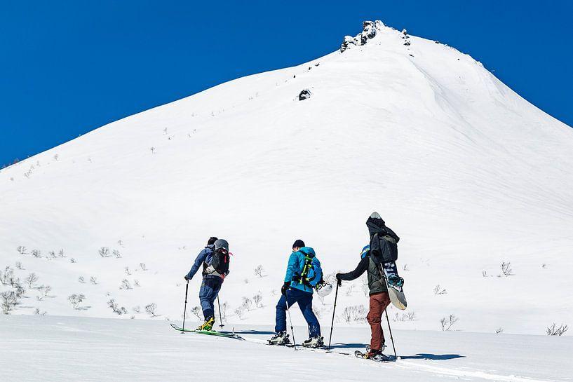 Ski touren in Japan van Hidde Hageman
