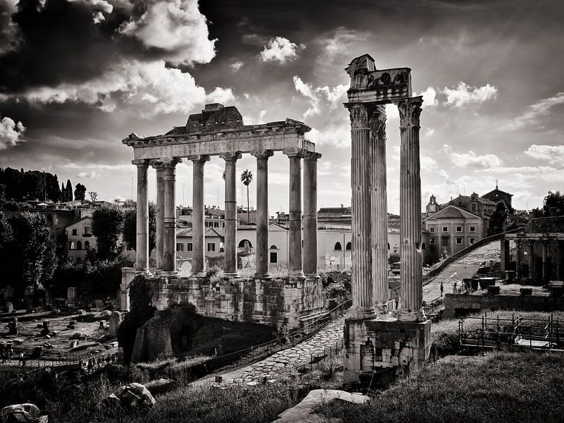 Rome - Forum Romanum van Alexander Voss