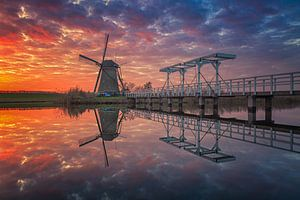 Last moments of light (1) - Kinderdijk