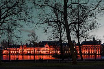 Hofvijver à La Haye sur Raoul Suermondt