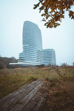 DUO gebouw in Groningen van Youri Zwart