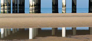 Spiegeling van de Scheveningse pier von