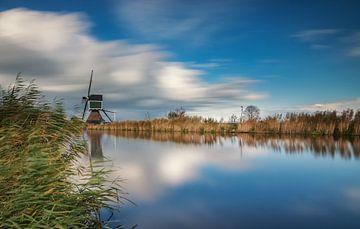 Mühle bei Groot Ammers von Ilya Korzelius