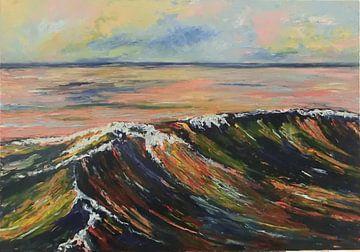 golf op zee van Harry Gijsberts
