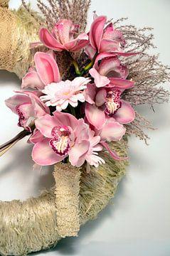 Roze orchideeën  von Benny Van Bockel