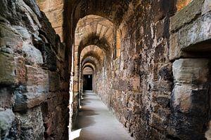 Schotland, Linlithgow Palace-zon in de gang