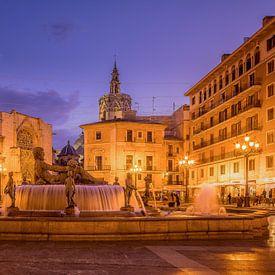 Valencia plaza de la Virgen van Elroy Spelbos