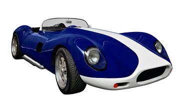 Lister Corvette van aRi F. Huber