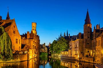 Schönes Bild von Brügge, Belgien von Rietje Bulthuis