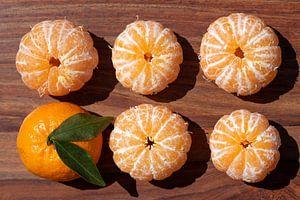 gepelde mandarijnen van Ulrike Leone